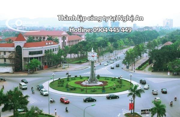 mở công ty tại Nghệ An