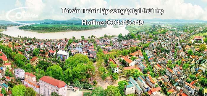 Tư vấn Thành lập công ty tại Phú Thọ